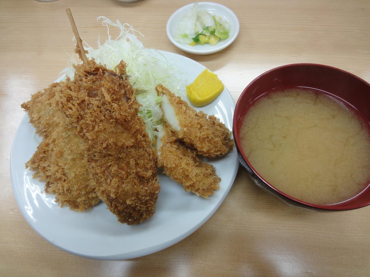 ロースカツ定食