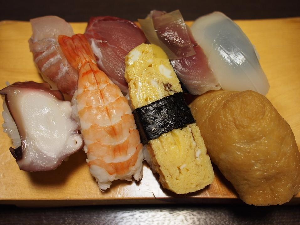 500円の寿司セット