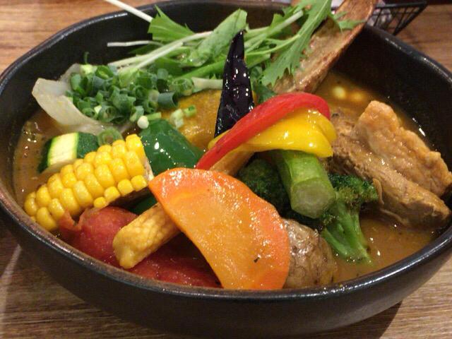 角煮と野菜(1280円)