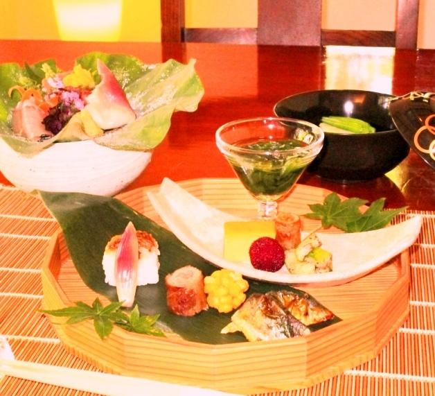強羅花壇 懐石料理 花壇