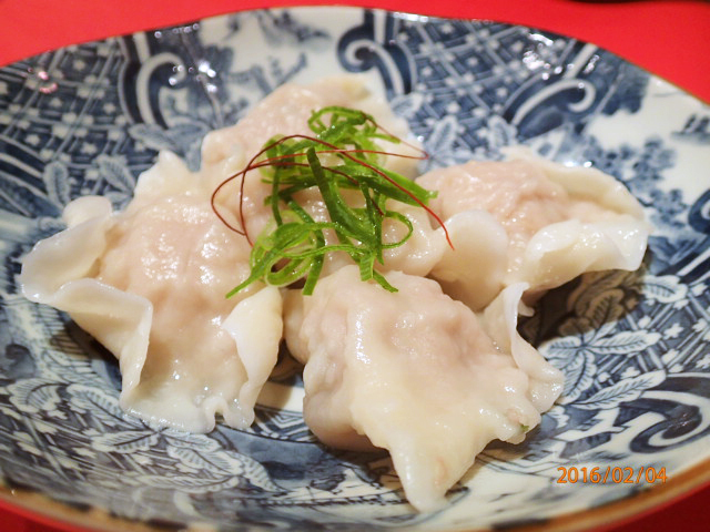 海鮮水餃子