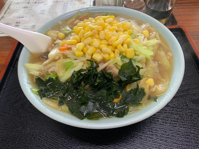 坂本食堂のちゃんぽん麵