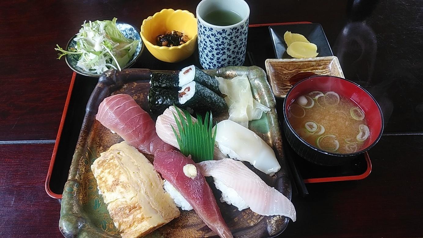 清鮨のにぎり寿司定食