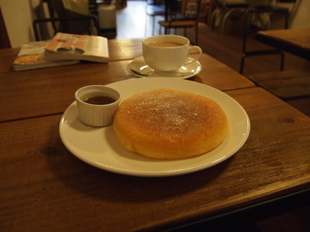 リコッタパンケーキ(1000円)