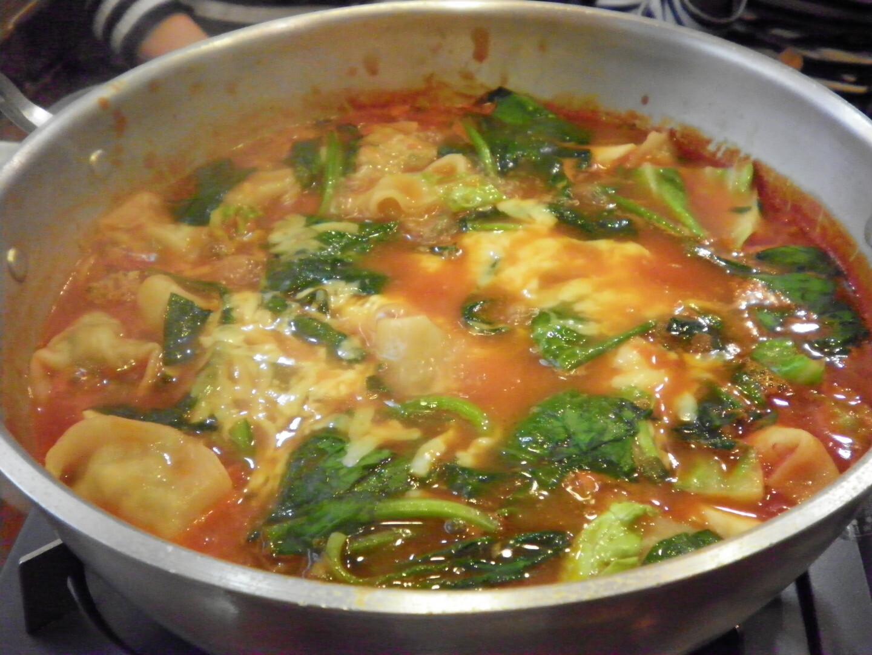イタリアン餃子鍋
