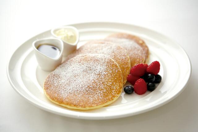 サラベス - 料理写真:レモンリコッタ パンケーキ