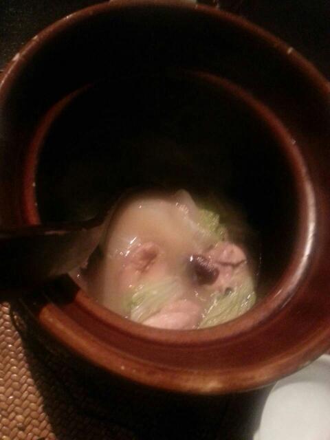 雏鶏学院_kuronekoyoru - 雏鶏と季节野菜の薬膳スープ