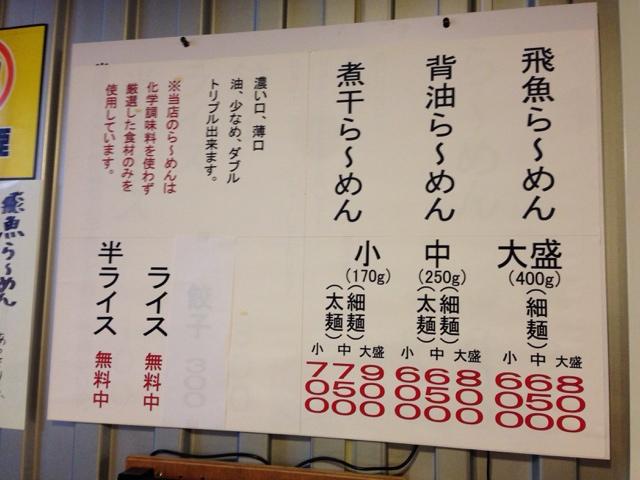 居酒屋かめちゃん - 料理写真:メニュー